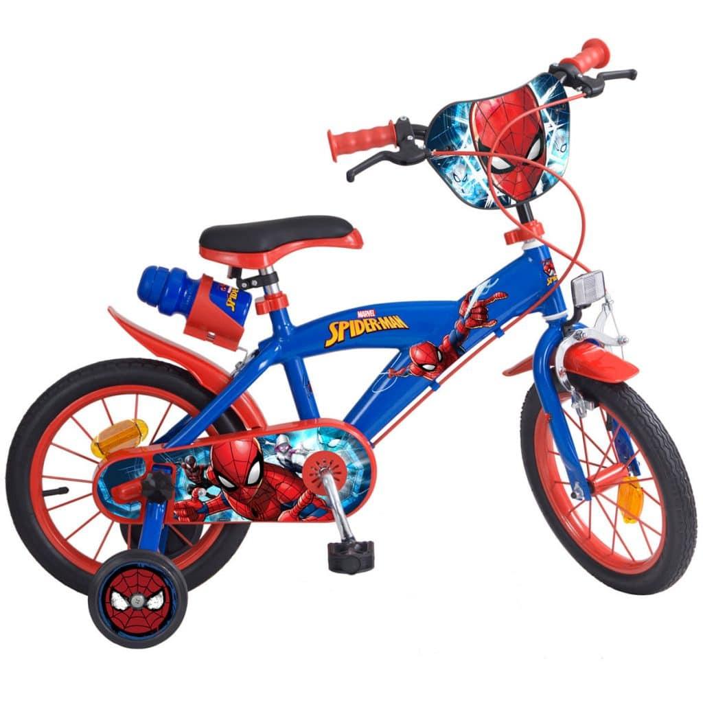 Bicleta infantil de Spiderman