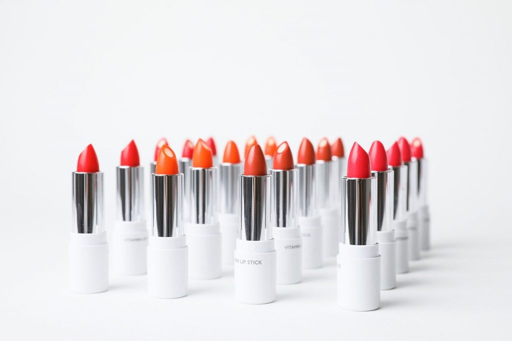 Barra labios roja